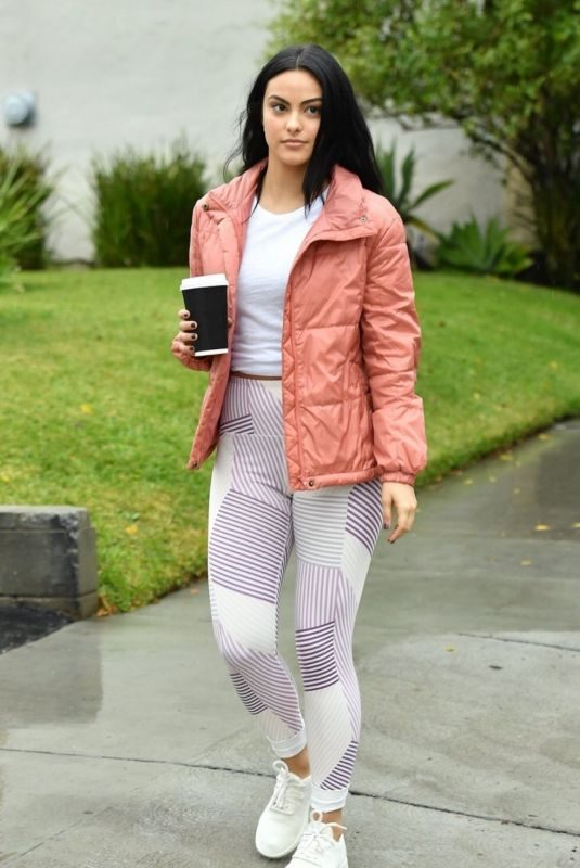 CAMILA MENDES Out and About in Vancouver 01/08/2019