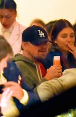 CAMILA MORRONE and Leonardo DiCarprio Kissing at a Restaurant in New York 01/09/2019
