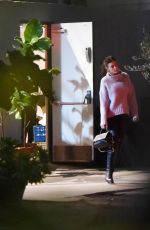 CAMILA MORRONE Leaves Madeo in Beverly Hills 01/24/2019
