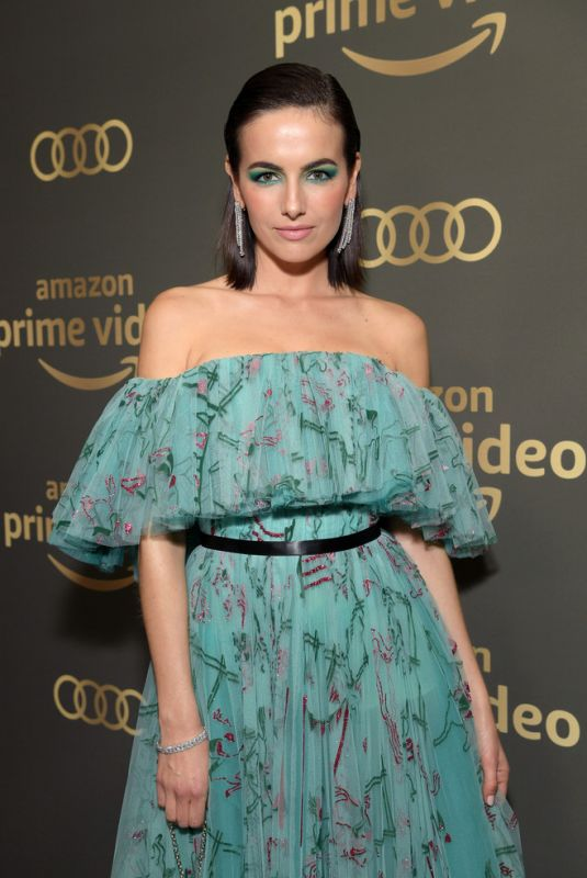 CAMILLA BELLE at Amazon Prime Video Golden Globe Awards After Party in Beverly Hills 01/06/2019