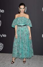 CAMILLA BELLE at Instyle and Warner Bros Golden Globe Awards Afterparty in Beverly Hills 01/06/2019