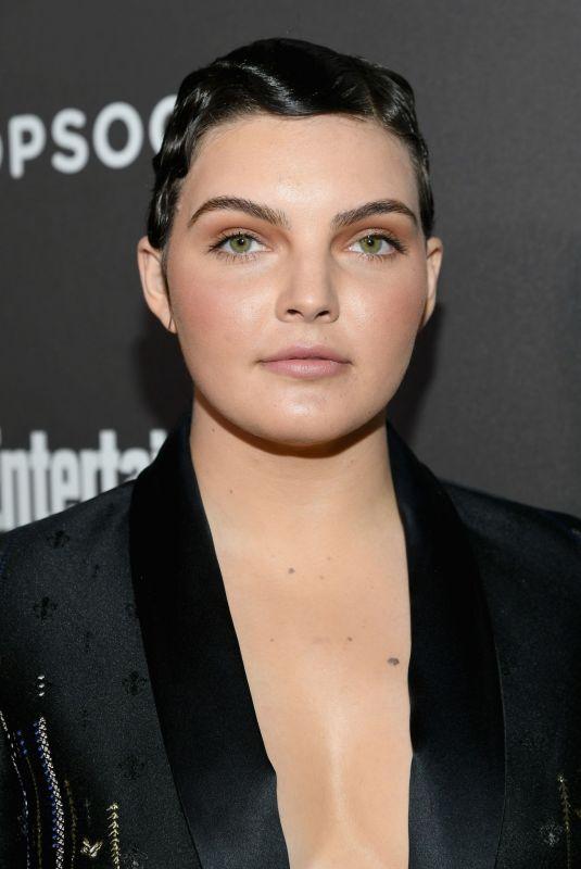 CAMREN BICONDOVA at Entertainment Weekly Pre-sag Party in Los Angeles 01/26/2019