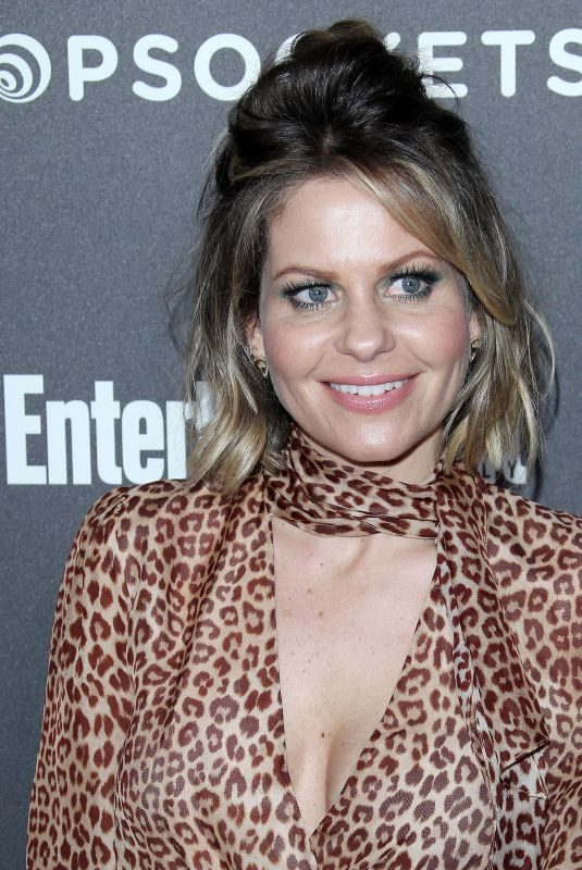 CANDACE CAMERON BURE at Entertainment Weekly Pre-sag Party in Los Angeles 01/26/2019
