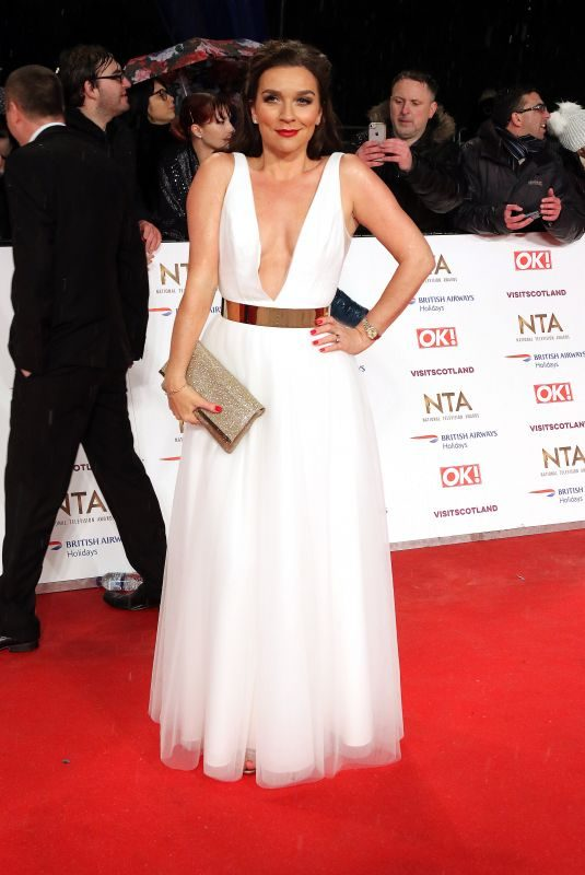 CANDICE BROWN at 2019 National Television Awards in London 01/22/2019