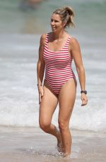 CANDICE WARNER in Swimsuit at a Beach in Sydney 01/03/2019