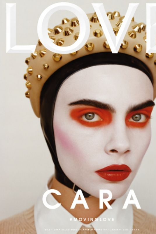 CARA DELEVINGNE for Love Magazine, January 2019