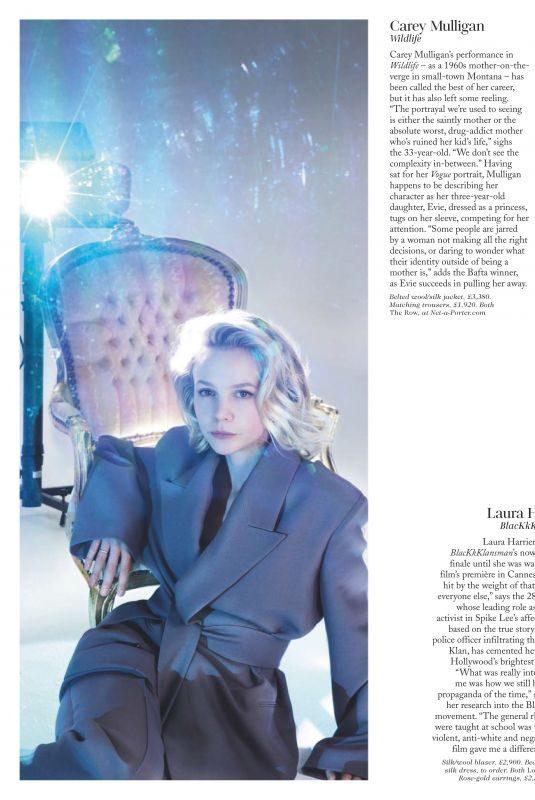 CAREY MULLIGAN in Vogue Magazine, UK February 2019