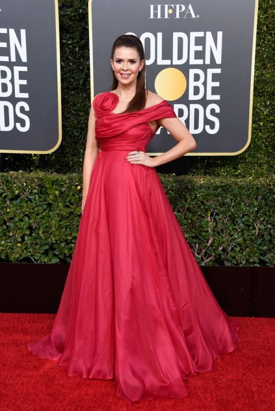 CARLY STEEL at 2019 Golden Globe Awards in Beverly Hills 01/06/2019