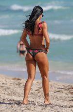 CAROLINA BALDINI in Bikini at a Beach in Miami 01/06/2019