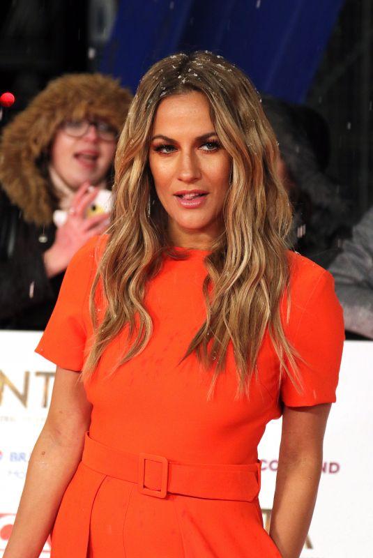 CAROLINE FLACK at 2019 National Television Awards in London 01/22/2019