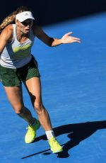 CAROLINE WOZNIACKI at 2019 Australian Open Practice Session at Melbourne Park 01/11/2019