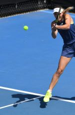 CAROLINE WOZNIACKI at 2019 Australian Open Practice Session at Melbourne Park 01/12/2019