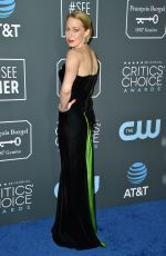 CARRIE COON at 2019 Critics' Choice Awards in Santa Monica 01/13/2019