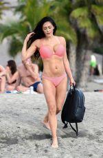 CASEY BATCHELOR in Bikini at a Beach in Tenerife 01/01/2019