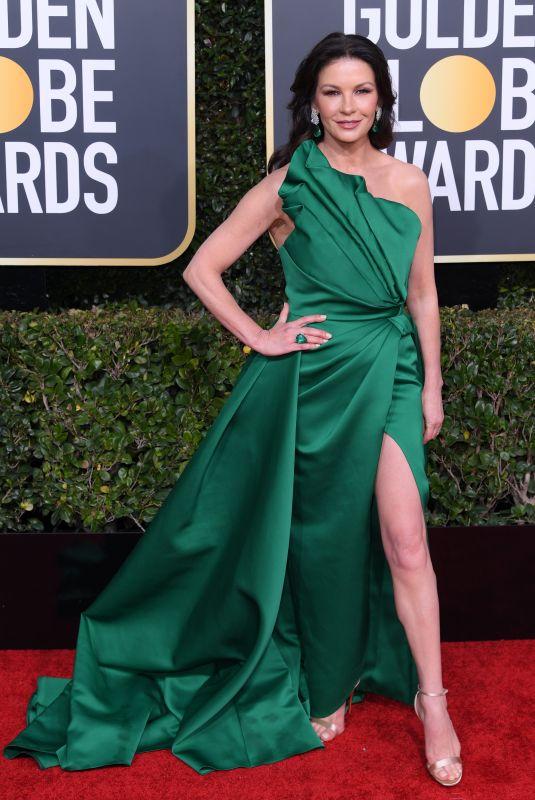 CATHERINE ZETA JONES at 2019 Golden Globe Awards in Beverly Hills 01/06/2019
