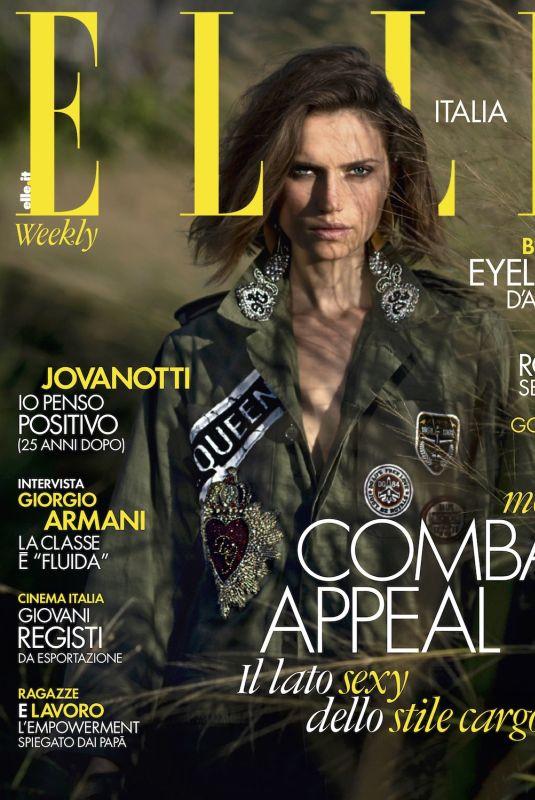 CATO VAN EE for Elle Magazine, Italy January 2019