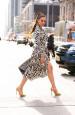 CATRIONA GRAY Out and About in New York 01/07/2019