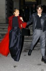 CELINE DION and Pepe Munoz Leaves Out in Paris 01/27/2019