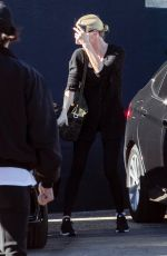CHARLIZE THERON Out for Lunch in Los Angeles 01/23/2019