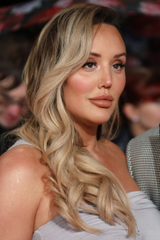 CHARLOTTE CROSBY at 2019 National Televison Awards in London 01/22/2019
