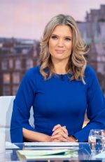 CHARLOTTE HAWKINS at Good Morning Britain Show in London 01/21/2019