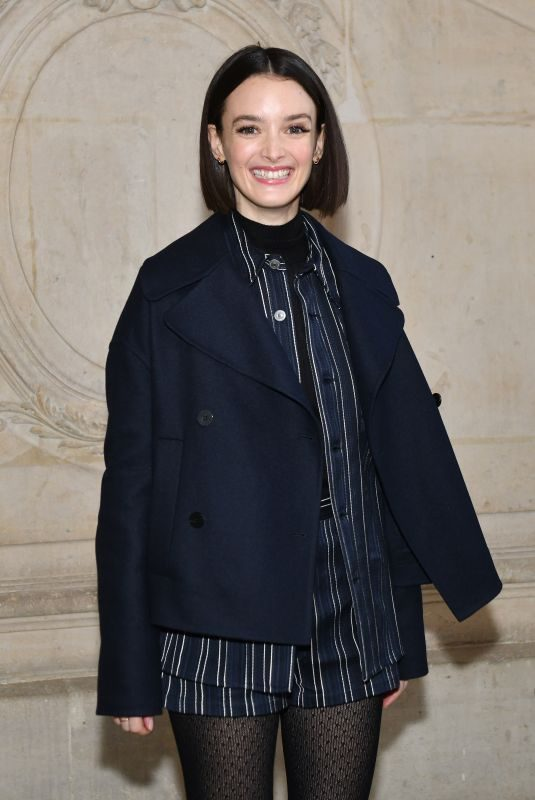 CHARLOTTE LE BON at Christian Dior Show at Paris Fashion Week 01/21/2019