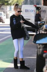 CHARLOTTE MCKINNEY Leaves Yoga Class in Santa Monica 01/22/2019
