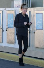 CHARLOTTE MCKINNEY Out Shopping in Los Angeles 01/23/2019