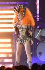 CHER Perfroms at a Concert in Florida 01/19/2019
