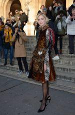 CHIARA FERRAGNI at Schiaparelli Haute Couture Fashion Show in Paris 01/21/2019