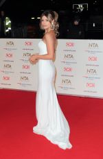 CHLOE LEWIS at 2019 National Televison Awards in London 01/22/2019
