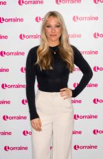 CHLOE MADELEY at Lorraine Show in London 01/09/2019