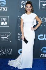 CHRISHELL STAUSE at 2019 Critics' Choice Awards in Santa Monica 01/13/2019