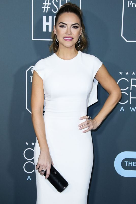 CHRISHELL STAUSE at 2019 Critics' Choice Awards in Santa Monica 01/13/2019