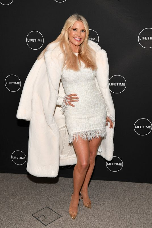 CHRISTIE BRINKLEY at Cocktails and Conversation with American Beauty Star in New York 01/17/2019