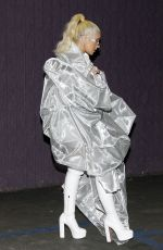 CHRISTINA AGUILERA Out in Los Angeles 01/29/2019