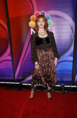 CHRISTINA HENDRICKS at NBC New York Mid Season Press Junket in New York 01/24/2019