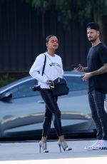 CHRISTINA MILIAN and Matt Pokora Leaves Marciano Art Foundation in Los Angeles 01/19/2019
