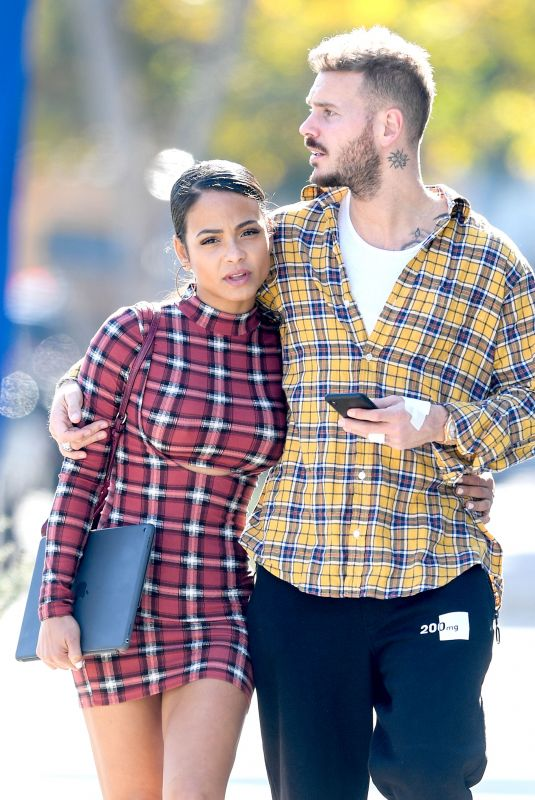 CHRISTINA MILIAN and Matt Pokora Out in West Hollywood 01/10/2019