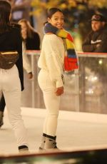 CHRISTINA MILIAN Out Ice Skating in Los Angeles 01/13/2019