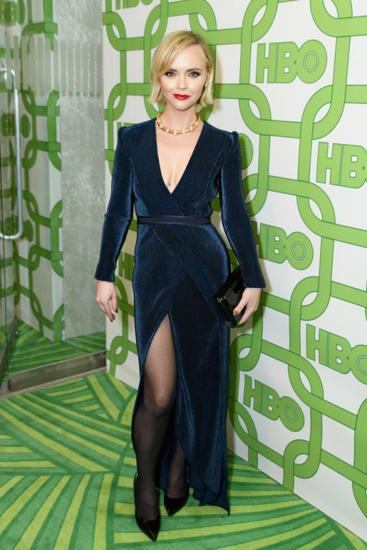 CHRISTINA RICCI at HBO Golden Globe Awards Afterparty in Beverly Hills 01/06/2019