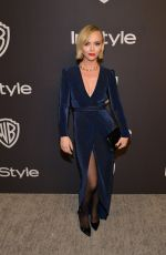 CHRISTINA RICCI at Instyle and Warner Bros Golden Globe Awards Afterparty in Beverly Hills 01/06/2019