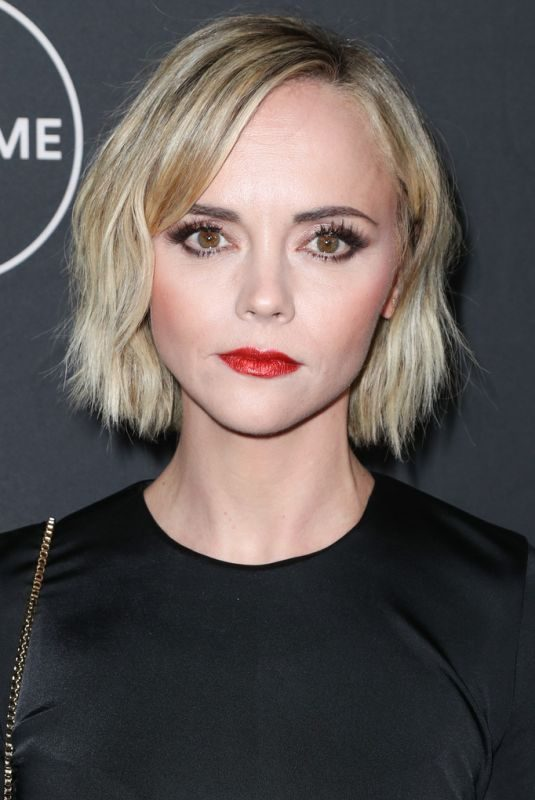 CHRISTINA RICCI at Lifetime Winter Movies Mixer in Los Angeles 01/09/2019