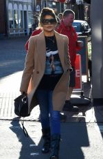 CHRISTINE MCGUINNESS and TANYA BARDSLEY Out in Wilmslow 01/28/2019