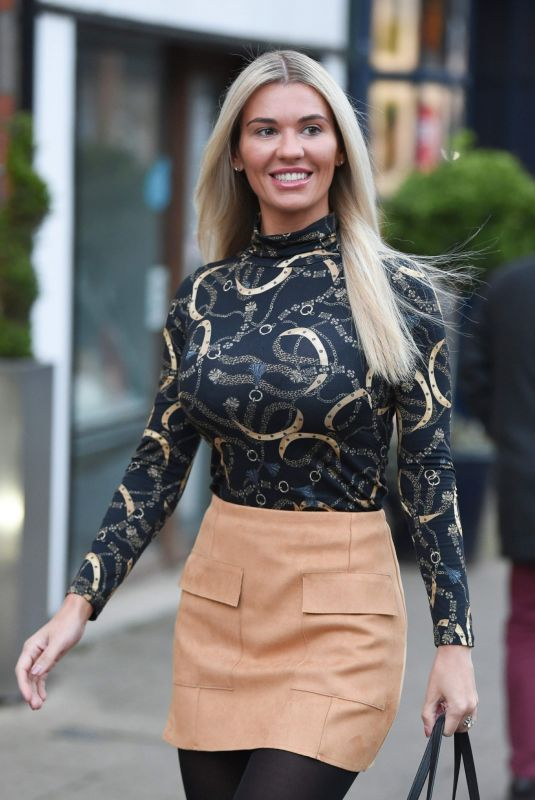 CHRISTINE MCGUINNESS Leaves Style Lounge Hair Salon in Cheshire 01/03/2019