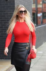 CHRISTINE MCGUINNESS Out and About in Manchester 01/08/2019