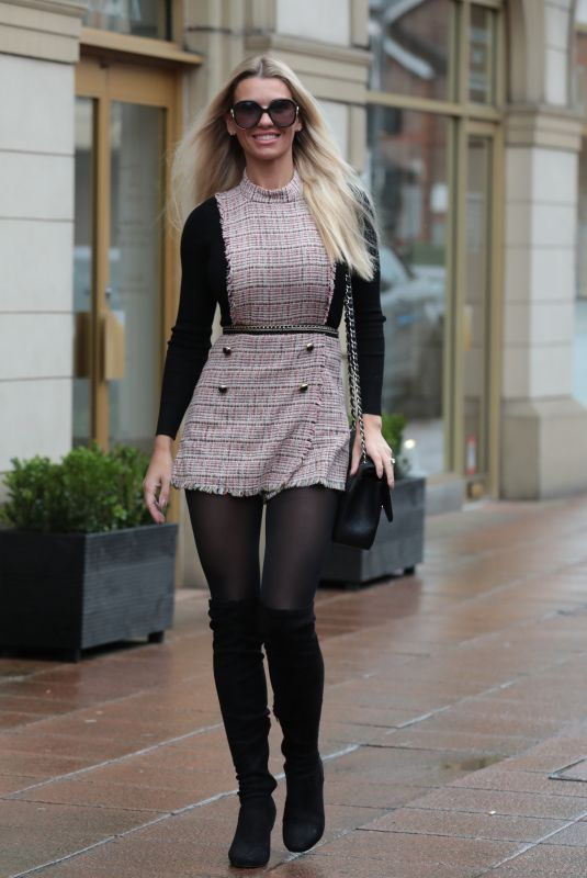 CHRISTINE MCGUINNESS Out in Wilmslow 01/19/2019
