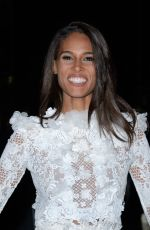 CINDY BRUNA at Giambattista Valli Fashion Show in Paris 01/21/2019