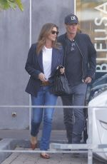 CINDY CRAWFORD and Rande Gerber Leaves Cafe Habana in Malibu 01/09/2019