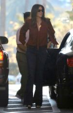 CINDY CRAWFORD Arrives at Beverly Hills Hotel 01/29/2019